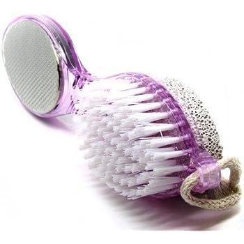 Shivam_Enterprises_ Multi-use Foot Care Brush Pumice Scrubber Pedicure Scraper (Standard, Colour May Vary)