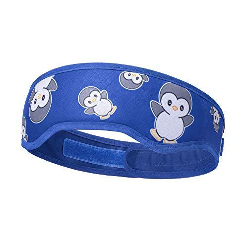 Navaris Stirnband Kühlpad Kompresse - 1x kühlendes wärmendes Stirnband - Coolpack Kühlpack für Kinder und Erwachsene - kühl warm