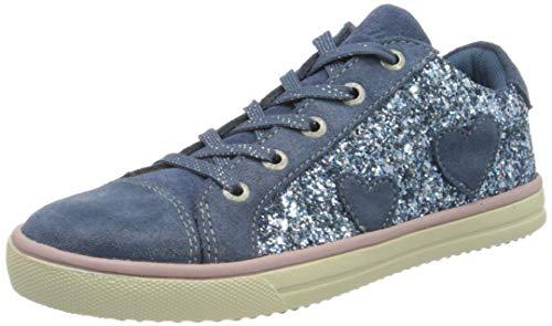 Lurchi Mädchen SASA Sneaker, Blau (Jeans 22), 30 EU