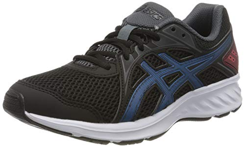 ASICS Unisex-Child JOLT 2 GS Running Shoe, Black/Directoire Blue, 36 EU