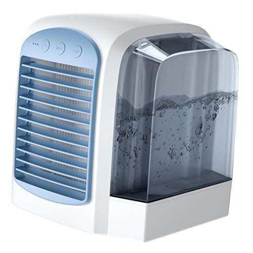 Amuzocity Aire Acondicionado Refrigerador Portátil Ventilador de Verano - Azul
