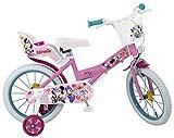 """Toimsa - Bicicletta per Bambini, Motivo Minnie, 16""""(40,6 cm), Colore: Rosa"""