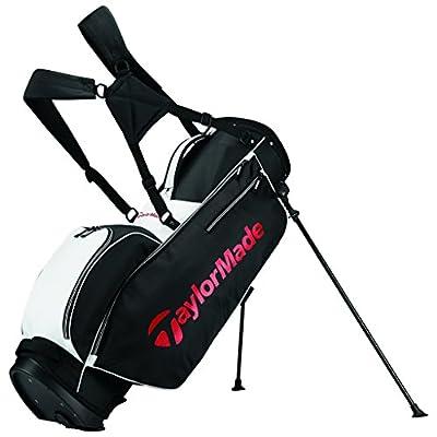 TaylorMade 2017 TM 5.0 Stand Golf Bag, White/Black