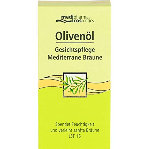 Medipharma Cosmetics, Olivenöl Gesichtspflege Mediterrane Bräune1 X Ml, 50 milliliter