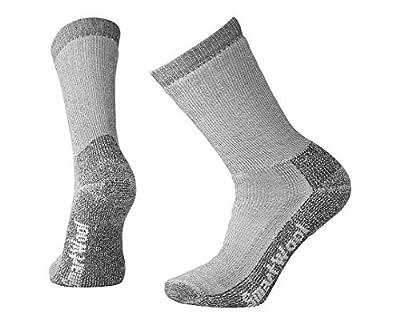 Smartwool Trekking Crew Socks - Men's Heavy Cushioned Wool Performance Sock GRAY Large
