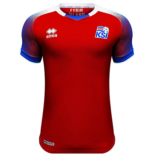 Errea 2018-2019 Iceland Third Football Soccer T-Shirt Jersey (Kids)