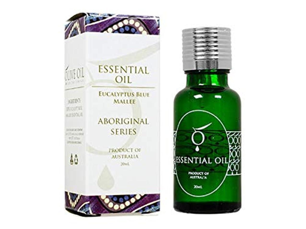 かき混ぜる手伝う恐ろしいOliveOil エッセンシャルオイル?ユーカリブルーマリー 20ml (OliveOil) Essential Oil (Eucalyptus Blue Mallee) Made in Australia