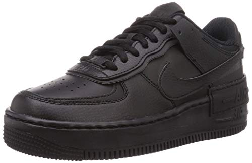 Nike Damen Air Force 1 Shadow Laufschuh, Schwarz, 38 EU
