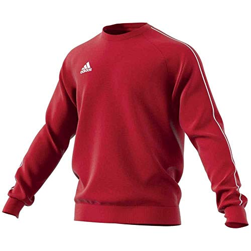 adidas Herren CORE18 SW TOP Sweatshirt, Power red/White, L