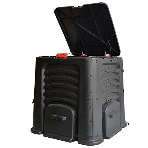 ZDYLM-Y 400L Compostiera Da Giardino, Creare Terreno Fertile Con L'Assemblea Facile, Leggero, Aerazione Esterna Compost Box