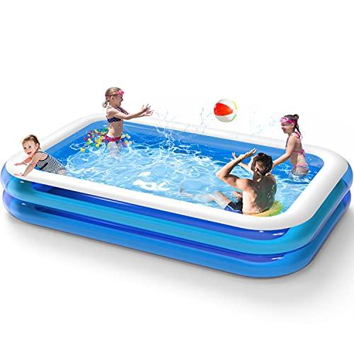 BruRkim Inflatable Backyard Pool