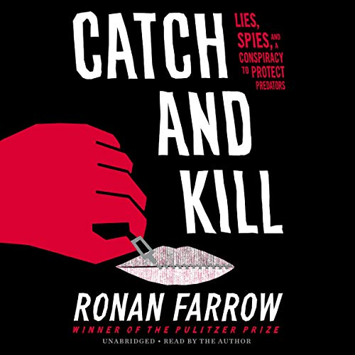 Catch and Kill audiobook cover art