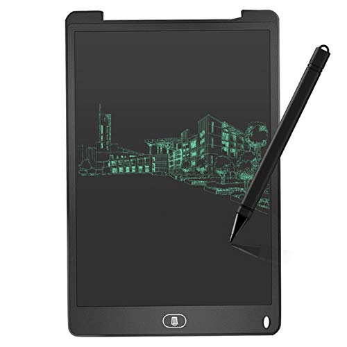"HEHXKJ Tablero de Dibujo 12""LCD Escritura Tableta Dibujo Digital Tablet Parts Portátil Portátil Electrónico Tablero Tablero Ultra-Delgado con Pluma (Color : Black)"