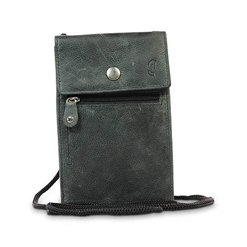 Safekeepers Protect Your valuables borstzak schoudertas leder