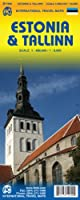 Tallinn & Estonia Travel Map: 1:8,000/400,000 (Itm)
