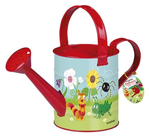 Moses 16113 Gieter, tuingereedschap voor kinderen, inhoud 2 liter, kleurrijk
