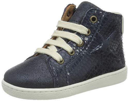 Bisgaard Gaia Hohe Sneaker, Blau (Marine 1408), 38 EU