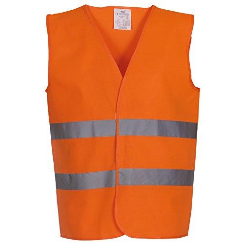 Yoko - Gilet Alta visibilità - Uomo (M) (Arancio)