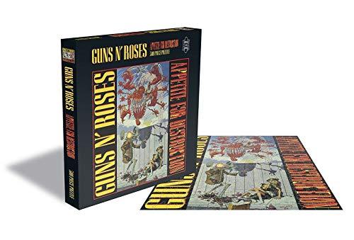 """Rock Saws Queen """"Appetite for Destruction"""" Albumcover Illustration Merchandise 500 Teile Puzzle"""