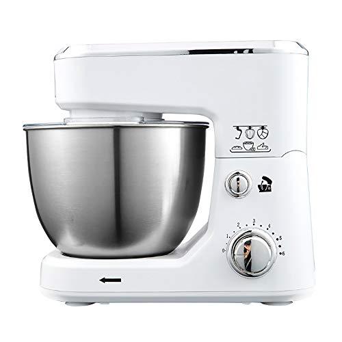 Batidora De Pie para Hornear, Pan Funcionamiento Eléctrico Masa Mezclador Huevos Licuadora Cocina Comercial Comida Batido De Pastel De Mezcla Amasadora
