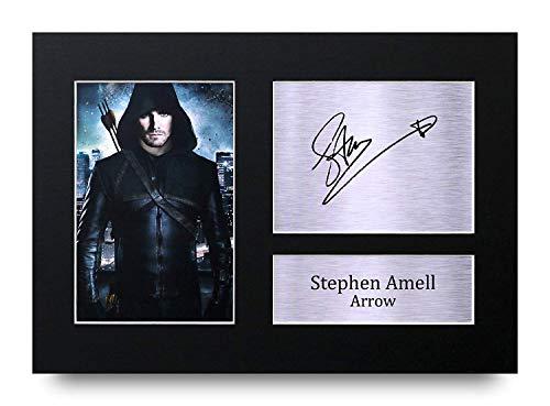 HWC Trading Stephen Amell A4 Ungerahmt Signiert Gedruckt Autogramme Bild Druck-Fotoanzeige Geschenk Für Arrow Tv-Show-Fans