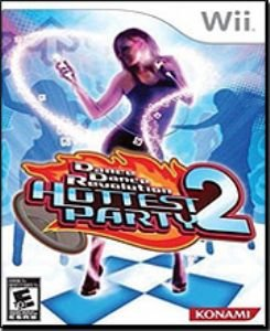 Dance Dance Revolution Hottest Party 2 (Nintendo Wii)