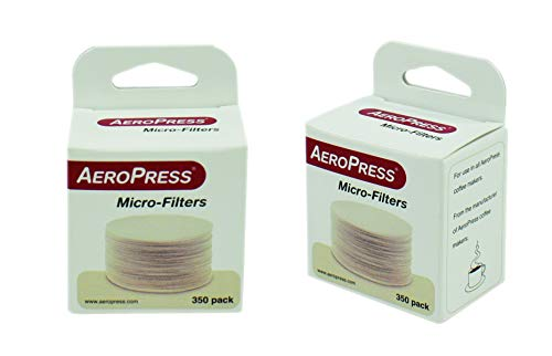 AeroPress Replacement Filters, 2 Pack - Microfilters For The AeroPress Coffee And Espresso Maker - 700 count