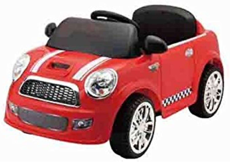LIBERAONLINE Auto Mini Coupe '6V Rot R C Spiel Spielzeug Geschenk   AG17
