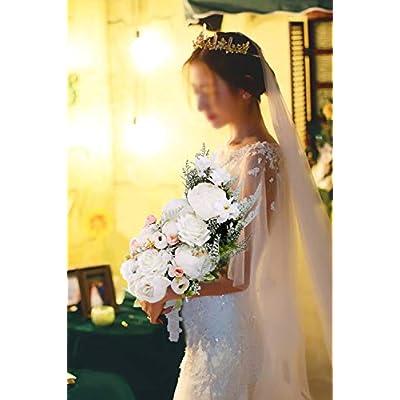 U'Artlines Bridal Wedding Bouquet Romantic ...