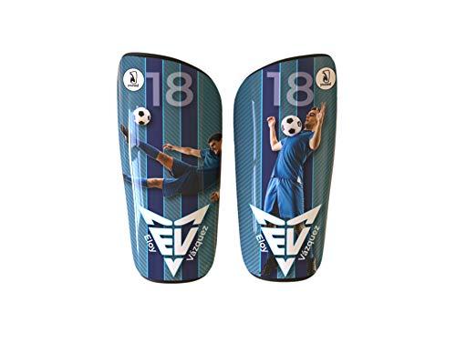 Younext Espinilleras de fútbol con tu Foto, Nombre y número (Personalizadas)