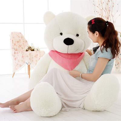ahzha Plüsch Teddybär, Große Umarmung Bär Schlummer Bär Schlafen Bär Puppe, Senden Freunde 100cm f
