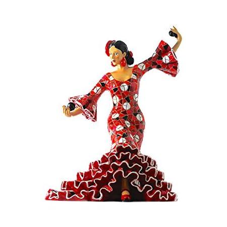 Figura Pareja Flamenca en Mosaico. Figura Mosaico. Figura ...