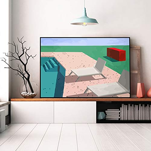 AQgyuh Puzzle 1000 Piezas Paisaje de Arte Abstracto Puzzle 1000 Piezas Rompecabezas de Juguete de descompresión intelectual50x75cm(20x30inch)