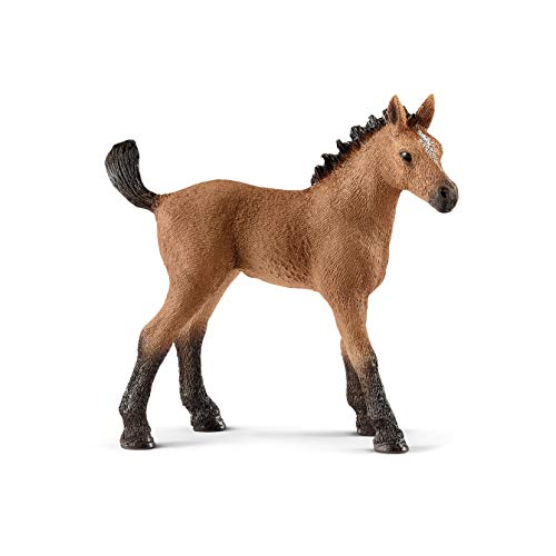 SCHLEICH Horse Club Quarter Horse Foal Educational Figurine for Kids Ages 5-12