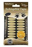SCHLUPFLID TAPE® 'lady size' (L) - Augenlidliftig ohne OP [120 Stück], Schlupflid Streifen für schöne offene Augen, Kleine Schönheitshelfer für hängende Augenlider