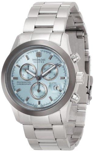 『[スイスミリタリー] 腕時計 ML-369 正規輸入品 シルバー』の1枚目の画像