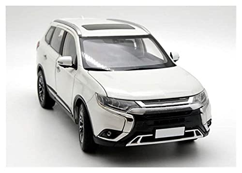 Modelos de autos , Aleación Diecast Modelo Coche 1:18 Escala para la aleación de Outlander Diecast Metal Car Collection Alloy Diecast Modelo Modelo de automóvil para niños Regalo de cumpleaños para ni