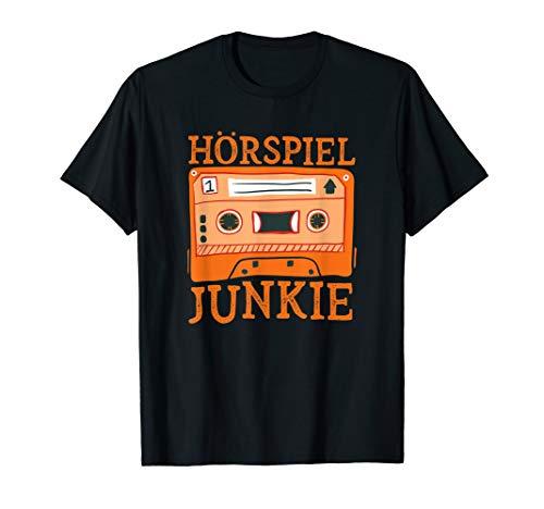 Hörspiel-Junkie   Geschenk für Hörbuch-Hörer und Fans