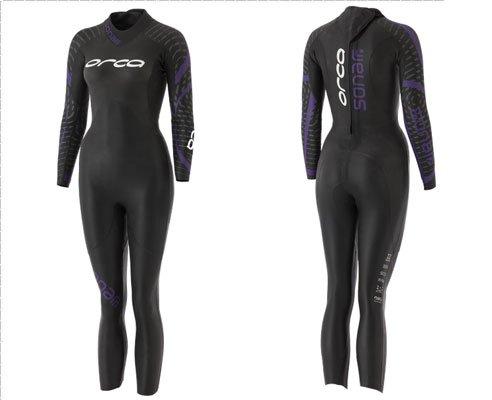 ORCA Sonar Fullsleeve Wetsuit Women Black 2018 Triathlon-kleding