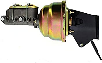 Jeep CJ 1974-86 Power Brake Unit 8 inch Dual Diaphragm Booster, Master Cylinder and Bracket Assembly Disc/Drum