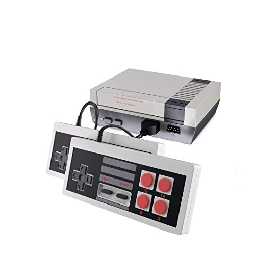 620 Retro Classic Video Game Console with Built-in 620 Games and 2 NES Classic Controllers,AV Output Video Games for Kids & Adults (Small)