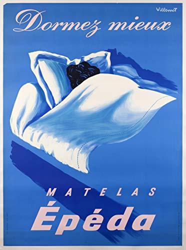 Materasso Epeda per dormire meglio pub, riproduzione poster, formato 50 x 70 cm, carta 300 g, disponibile in HD