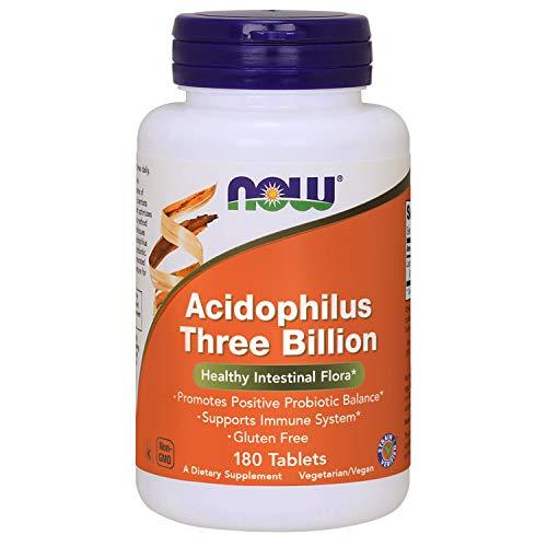 STABILIZED ACIDOPHILUS THREE BILLION - 180 tabs