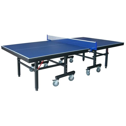 "Hathaway Victory Professional 9' Table Tennis Table with 25mm Thick Surface, 2"" Steel Supports, Free Paddles, Balls and Net"