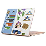 Surface Laptop Go 専用 スキンシール サーフェス ラップトップ ゴー ステッカー カバー ケース フィルム アクセサリー 保護 014630 こどもの日 鯉のぼり