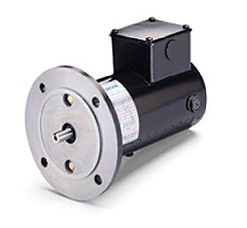 Permanent Magnet 12VDC Motor 90Volts DC 1/4 hp 1750 RPM 34G56C Frame Leeson Electric M1130055
