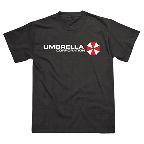 Postees Umbrella Corporation Corps Inspired by Resident Evil T-Shirt Nero XL