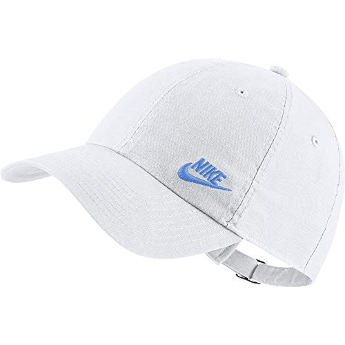Nike Damen Women's H86 Cap Futura Classic Mütze, White/University Blue, Einheitsgröße