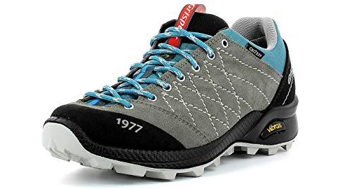 Grisport Terrain Low Women Frauen,Damen Trekkingschuh,Approach,Urban Outdoor,Wildleder-Gritex-Membran Konstruktion,Light Grey,40 EU / 6.5UK