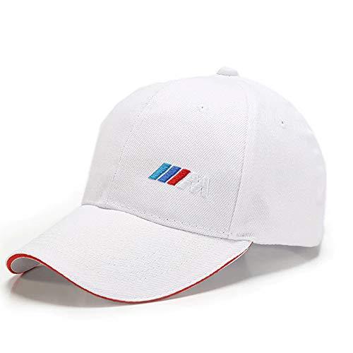 Kompatibel mit M Sport Collection sportlich weiß verstellbare Kappe